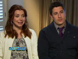Alyson Hannigan et Jason Biggs interviewés