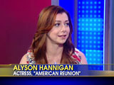 Alyson sur le plateau de Fox News