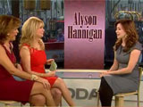 Alyson face à Kathie Lee et Hoda
